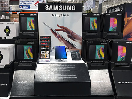 Samsung-Galaxy-Tablet S5e Pallet Display