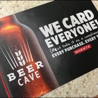 Sheetz We-Card-Everyone Counter Mat
