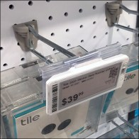 Tile Straight-Entry-Hook Digital Price Tag