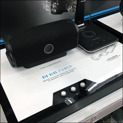 Brookstone Wireless Waterproof Speaker Display