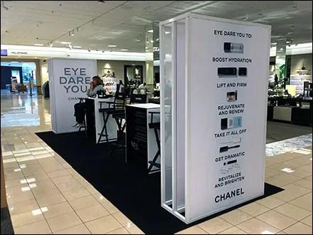 Chanel Eye-Dare-You Pop-Up Salon