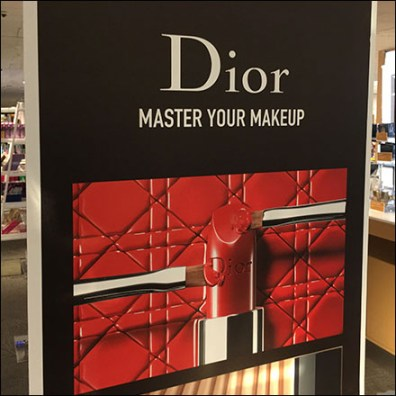 Dior Master-Your-Makeup Merchandising
