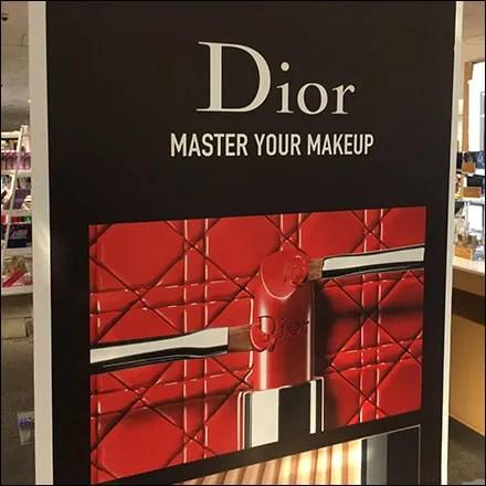 Dior Master-Your-Makeup Merchandising