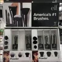 Elf Shelf-Front Cosmetics Brush Merchandising