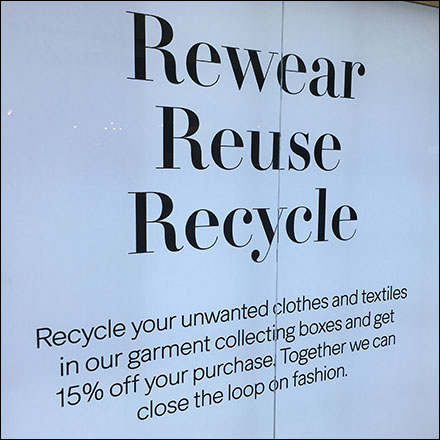 H&M Clothing Recycling Fashion Discount