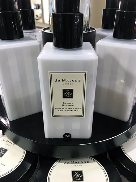 Jo Malone Merchandising Display - Jo Malone Countertop Cosmetics Turntable
