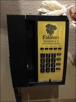 Kalahari Convention-Center Courtesy Phone