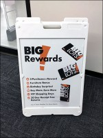 Big-Lots Big-Rewards Sidewalk Sign Promo
