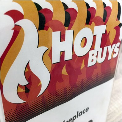 Fireplace Hot-Deals Acrylic Sign Holder