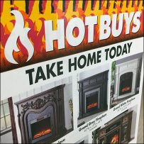 Fireplace Hot-Deals Padded Sale Flyers