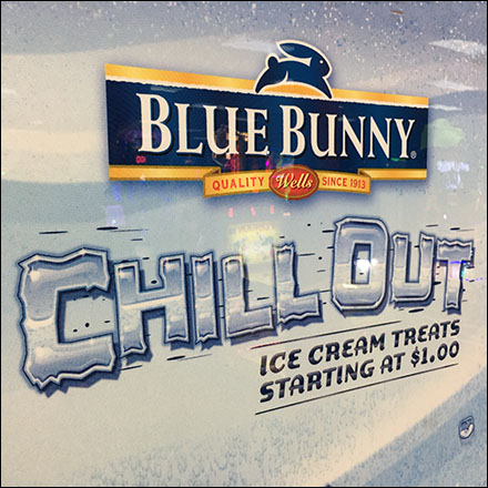Blue-Bunny Chill-Out Ice-Cream Vending