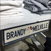 Brandy-Melville Branded Picnic-Table Display