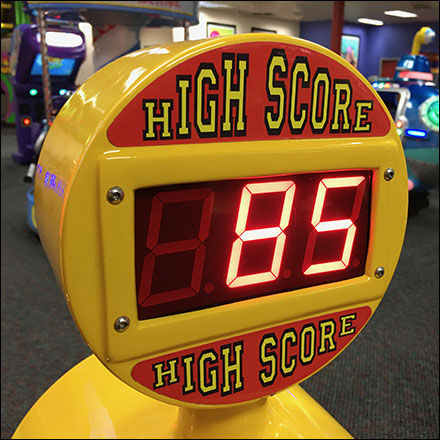 Chuck E Cheese Treadmill High-Score Motivation
