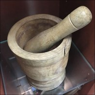 Edgewood Pharmacy Vintage Mortar and Pestle Square2