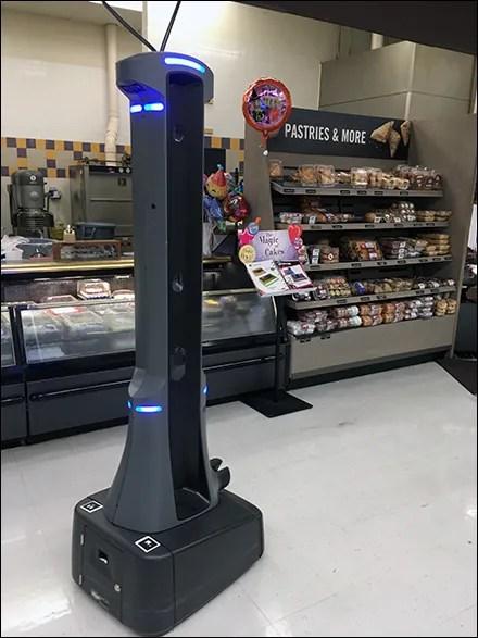 Retail Robot Patrol Game-Face
