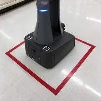 Retail Robot Rest Stop Floor-Graphic