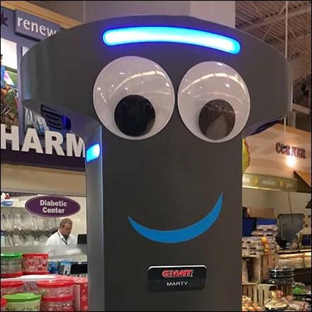 Twin Retail Robot Coffee Break.Aux
