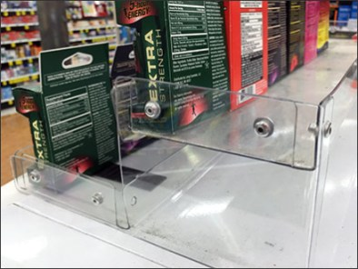 Cooler Top Energy Drink Tiered Display 3