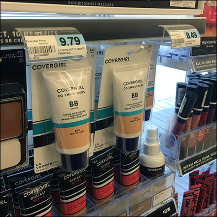 CoverGirl Curved Acrylic Label Holders