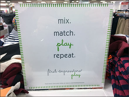 First Impressions Mix-Match-Play-Repeat