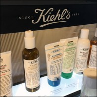 Kiehl's Cosmetics Lineup Countertop Display