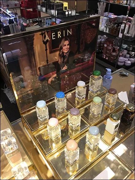 Aerin Fragrance Tester Array Organization