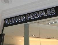 Oliver Peoples Eyewear-Shapes Logo Branding