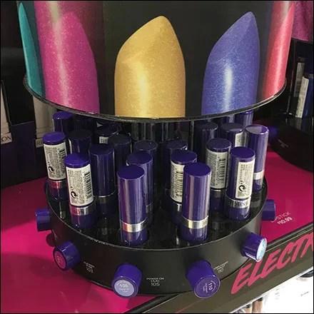 Revlon Electric Shock Lipstick Carousel Details Feature
