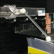 Articulated-Arm Shelf-Edge Sign Holder
