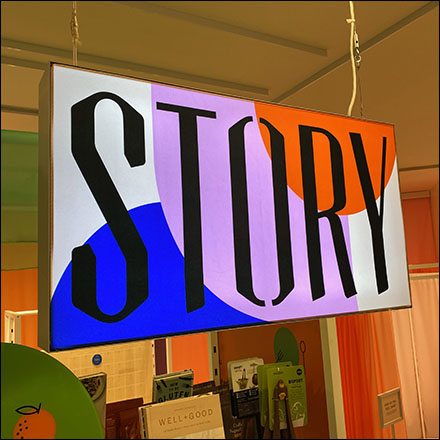 Well+Good Story Experiential Pop-Up Department