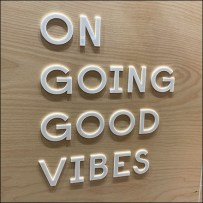 Experiential Ongoing-Good-Vibes Scheduling Board