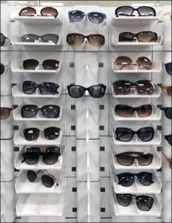 Modular-Stacking Sunglass Merchandiser Display