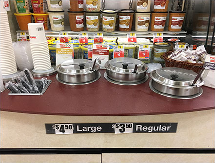 Weis2Go Soup-To-Go Counter Service