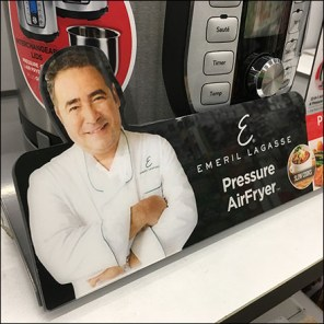 Emeril Lagasse Point-of-Purchase Branding