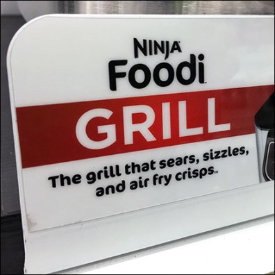 Ninja-Foodi Grill Point-of-Purchase Branding