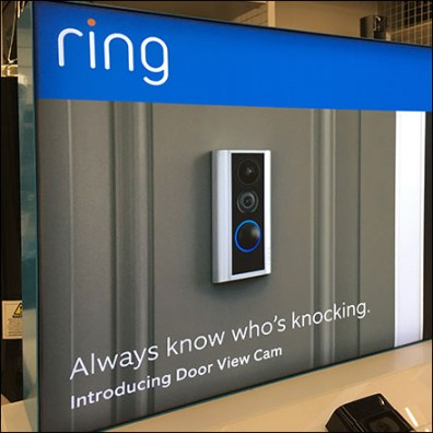 Ring Know-Who's-Knocking Display