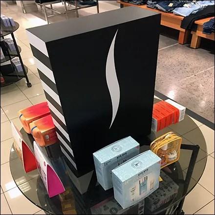 Sephora Stylized Brand Mobile Island