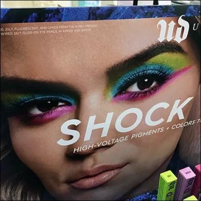 Sephora Wired Shock-Value Island Display
