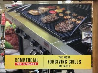 Char-Broil Commercial Grill Signpost