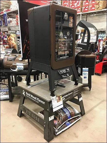 Pit Boss Grill Pedestal Display