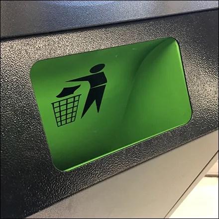 Market 32 Sanitizer-Wipes Built-In Waste-Receptacle