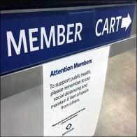 Cashwrap CoronaVirus Social-Distancing Notice