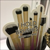 Pretty-Little-Things Makeup Brush Holder Insert