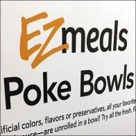 EZmeals Sign Stand