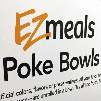 EZmeals Sign Stand