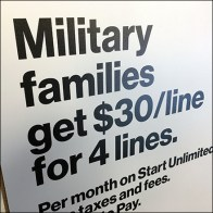 Verizon Military Family Discounts Offer