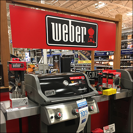 Weber Walled-In Grill Department Feature