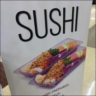 Snowfox Sushi Signage