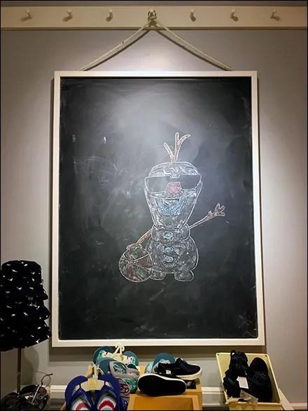 Children's In-Store Chalkboard Art