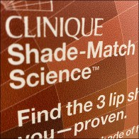 Clinique Graduated Shade-Match Display